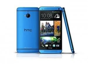 HTC One Metallic Blue Smartphone Arrives Exclusively At Best Buy Sept 15th
