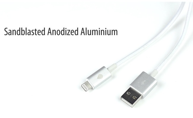 Juicies Plus Tangle Free Woven Cables For iPhone, Android And More