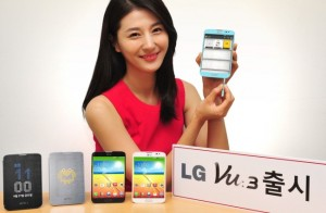 LG Vu 3 Quad Core Android Smartphone Officially Unveiled