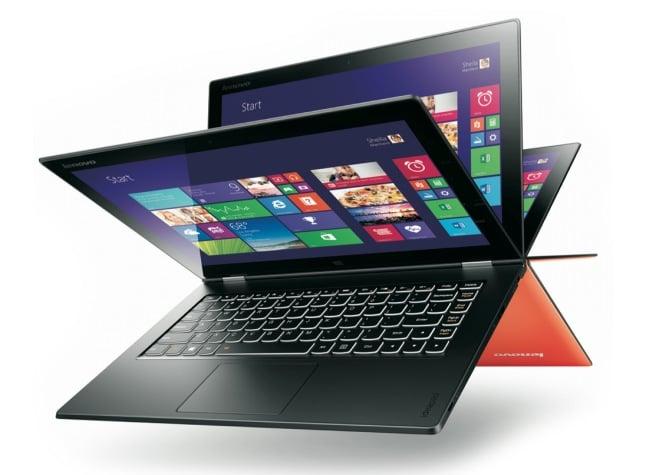 Lenovo yoga 2 pro support