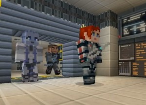 Minecraft Xbox 360 Edition Mass Effect Mash-Up Texture Pack Launches (video)