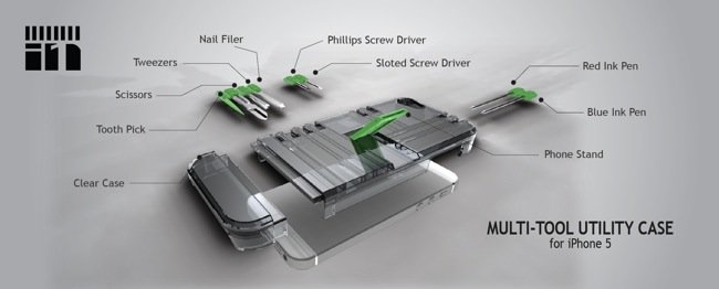 Multi-Function iPhone Case