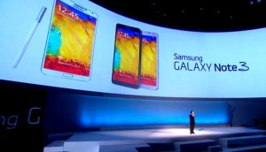 Samsung Galaxy Note 3 Gets Official