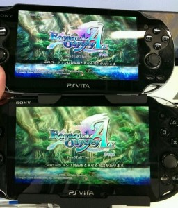 PS Vita LCD vs OLED Screen Comparison