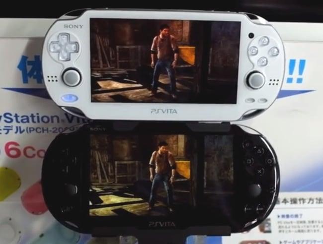 PS Vita Screen Comparison