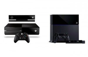 PlayStation 4 vs Xbox One (video)