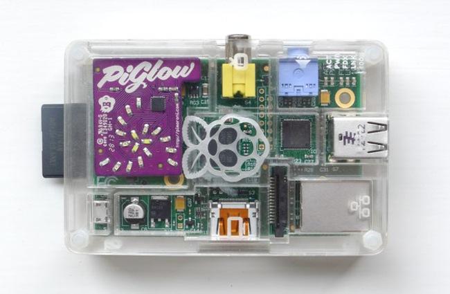 Raspberry Pi PiGlow