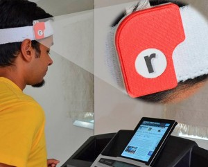 Run-n-Read Motion Sensor That Lets You Read While You Treadmill (video)