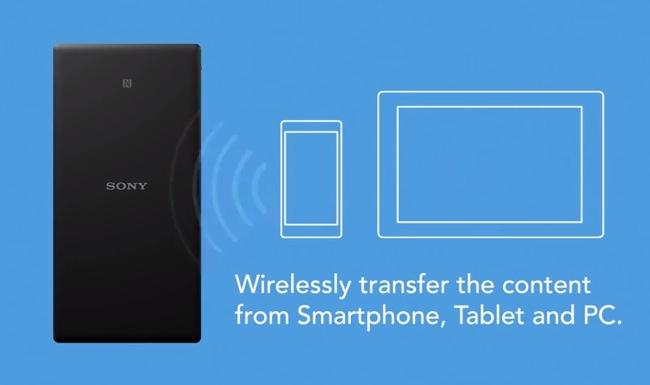 Sony WG-C20 Portable Wireless Server
