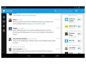 Twitter Tablet Android App Details Leaked