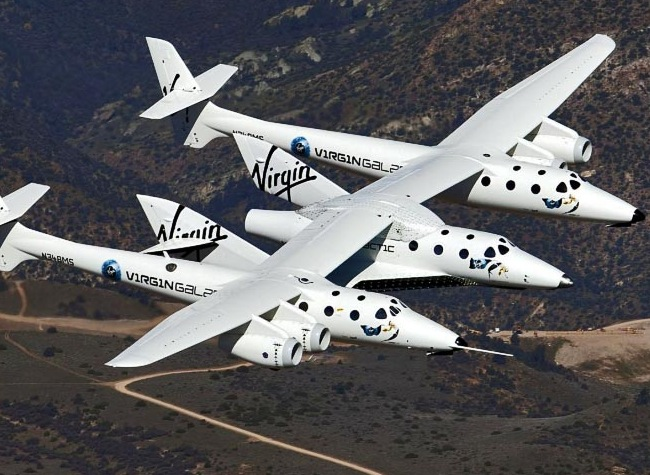 Virgin Galactic Second Rocket Powered Test Flight Captured On Video