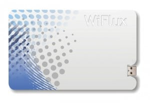 WiFlux Wireless Portable Power Credit Card Sized Battery Pack (video)