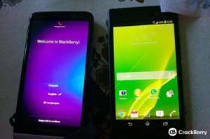 BlackBerry Z30 Spotted Hanging With The Xperia Z1