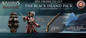 Assassin's Creed IV Black Flag Pre-Order Extras Unveiled for GameStop