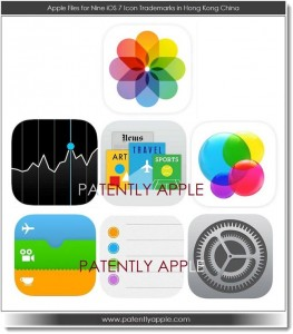 Apple Files 9 Trademarks In China For Apple iOS 7 Icons