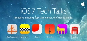 Apple iOS 7 Tech Talks For Developers Announced
