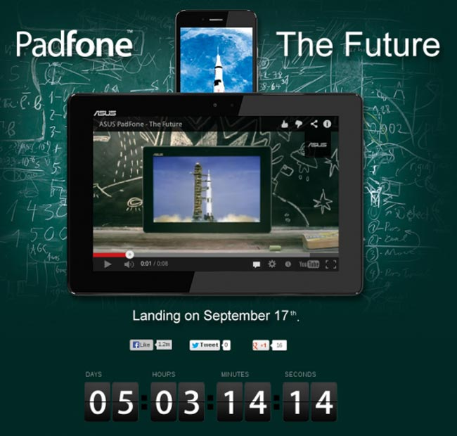 Asus Padfone Inifinity