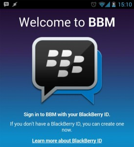 BBM For Android To Launch 20th September