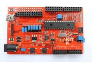 Raspberry Pi chipKIT Pi Expansion Board With 32-bit MCU Unveiled (video)