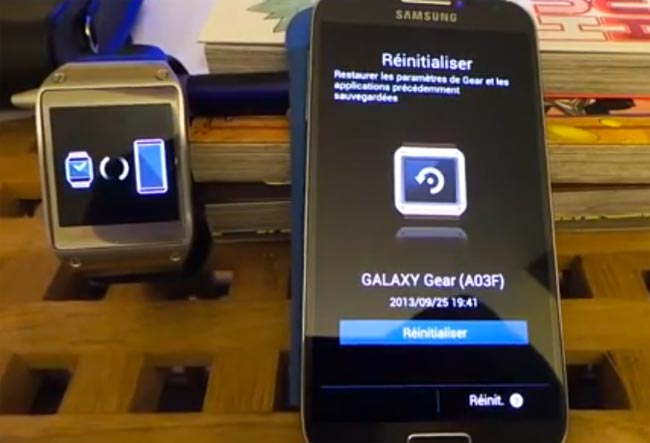 Samsung Galaxy Gear Works With The Galaxy S4 (Video)