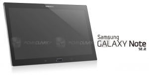 Alleged Samsung Galaxy Note 12.2 Render Leaked