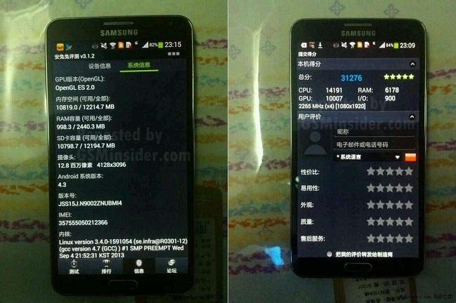 Samsung Galaxy Note 3 Dual-Sim