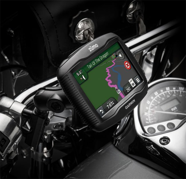 Garmin Zumo 390LM Motorcycle GPS Device Now Available ...