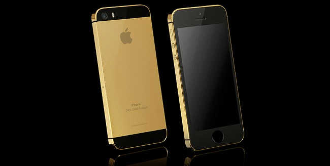 Gold-Plated Apple iPhone 5S Available for £1,781