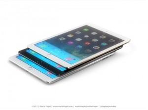 Unofficial iPad 5 and iPad Mini 2 Press Renders