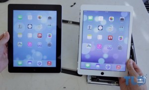 Apple iPad 5 Mockup Compared To iPad 4 (video)