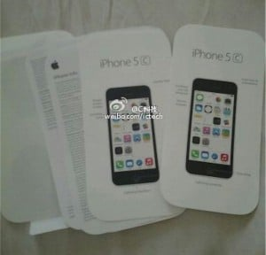 iPhone 5C User Manuals Spotted in the Wild