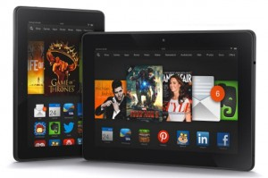 Amazon Kindle Fire HDX Tablets Announced