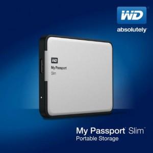 Western Digital Unveils My Passport Slim 2 TB Portable HDD with Encryption