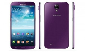 Purple Samsung Galaxy Mega 6.3 Launched In Hong Kong