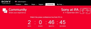 Watch Sony's IFA Press Event Live Online on September 4