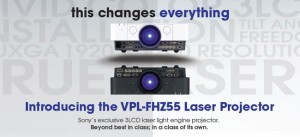 Sony Ships the World's First 3LCD Laser Light Source Projector