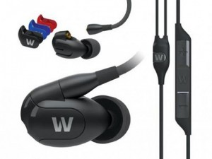Westone W-Series earphones have interchangeable cable and faceplates