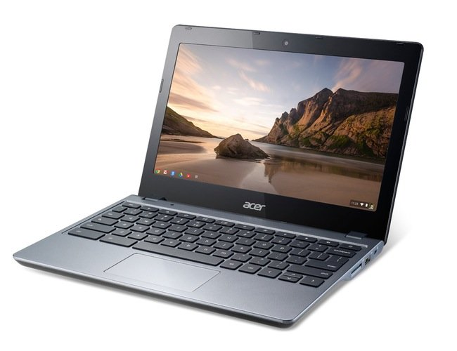Touchscreen Chromebooks