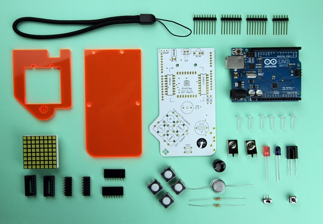 how to make your own handheld game console