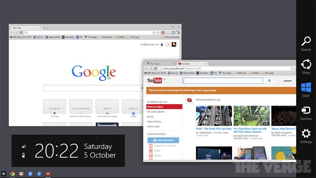 Google Chrome Windows 8