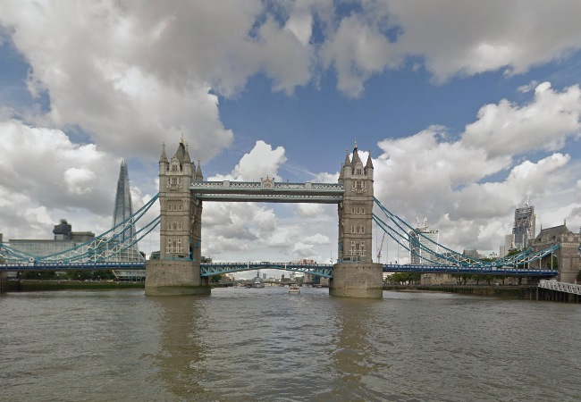 Google Street View River Thames