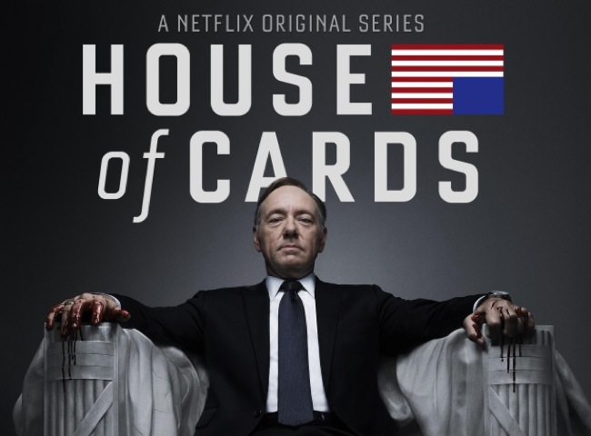 Netflix House of Cards Third Season Being Discussed