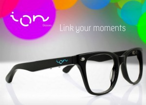 ION Glasses Provide Unobtrusive Notifications From Your Smartphone