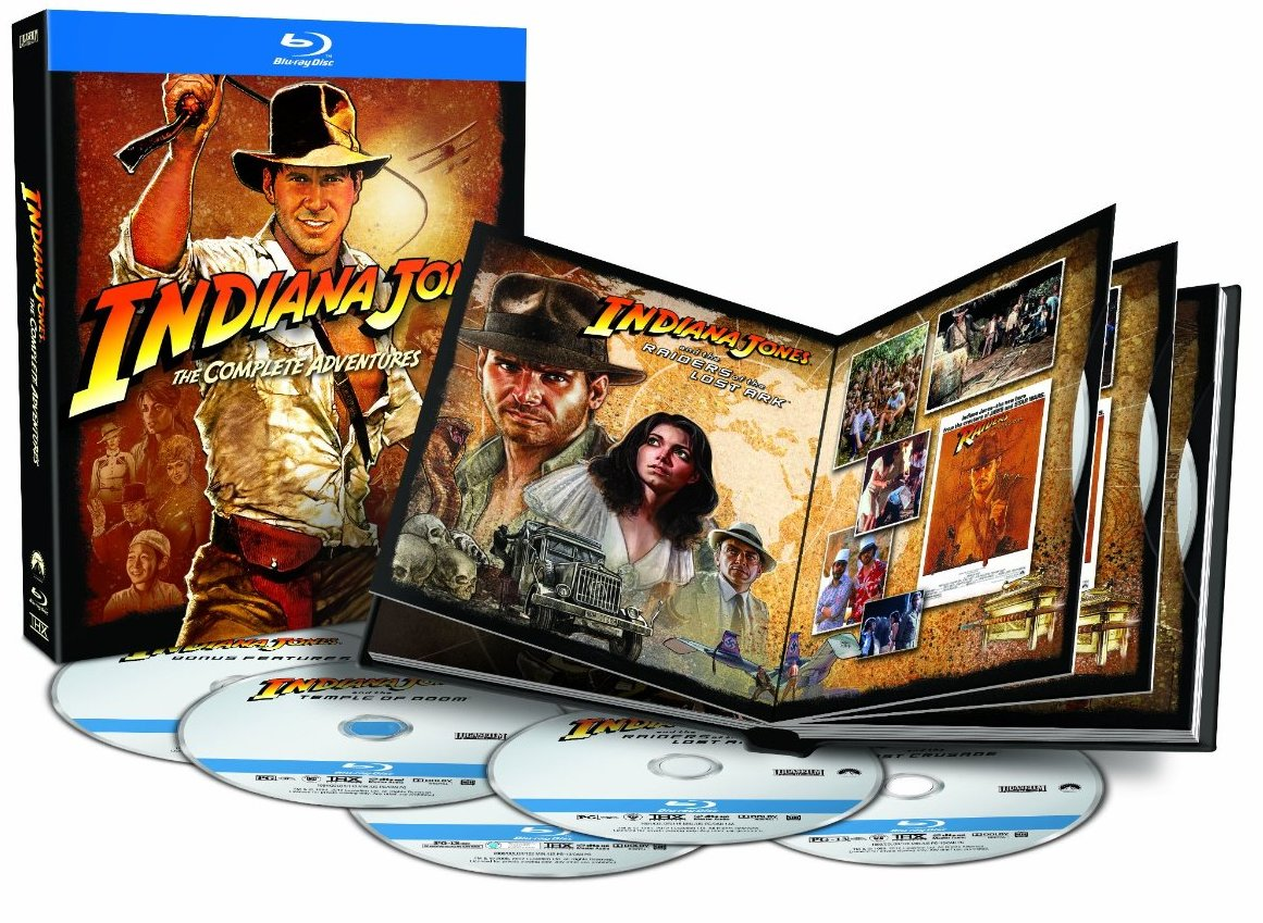 Indiana Jones Raiders Bluray