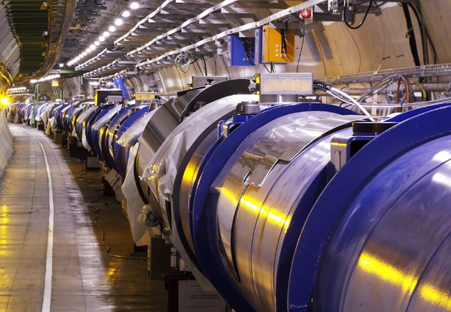 Large Hadron Collider Street View