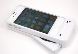 Mipwr iPhone Charging Case Requires Only A Squeeze
