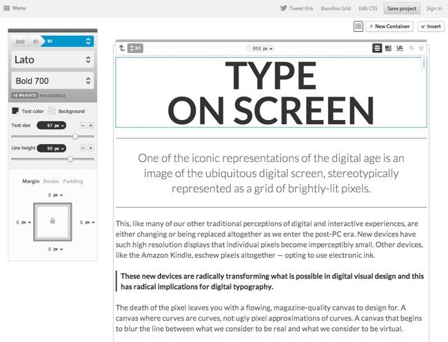 Monotype Typecast