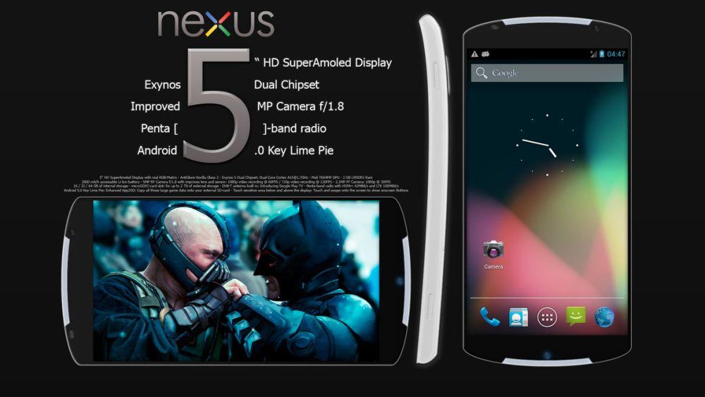 Nexus 5 Prototype Leaked