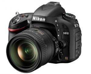 Nikon D610 FX-Format D-SLR Launches For $2,000