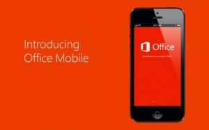 Office For iPad Arriving After Touch-First Windows Interface Launches